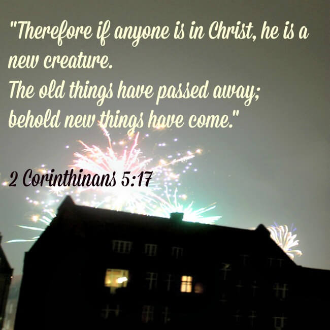 New Year-New creature in Christ